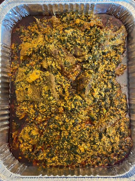 Egusi with Swallow