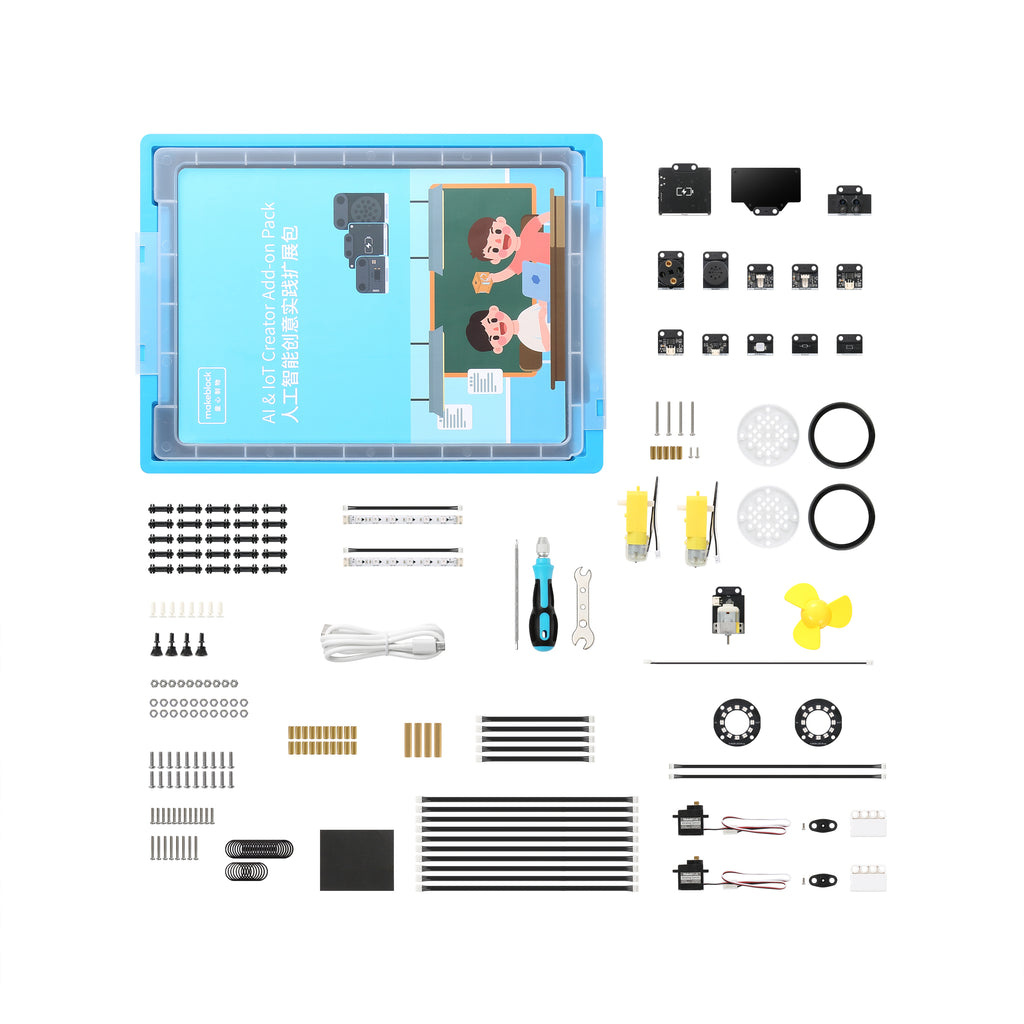 mBuild- AI & IOT creator ADD on pack-stem-kits -for-kids