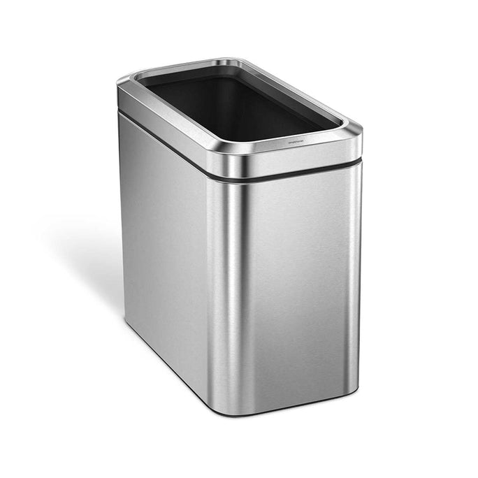 25L slim open can - brushed finish -  main image