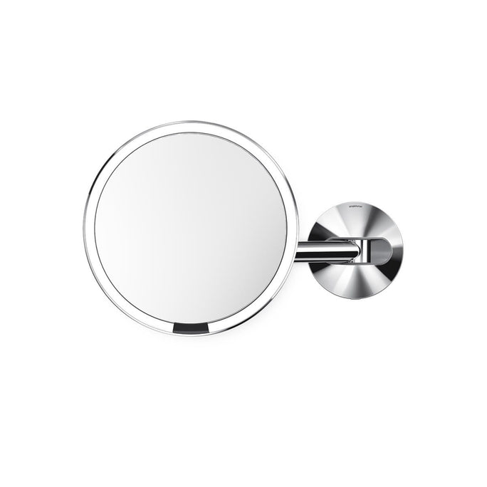 hard-wired wall mount sensor mirror - polished finish - main image