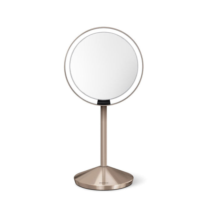 sensor mirror fold - rose gold finish - main image