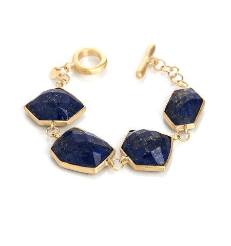 Lapis Toggle Bracelet - Closeout