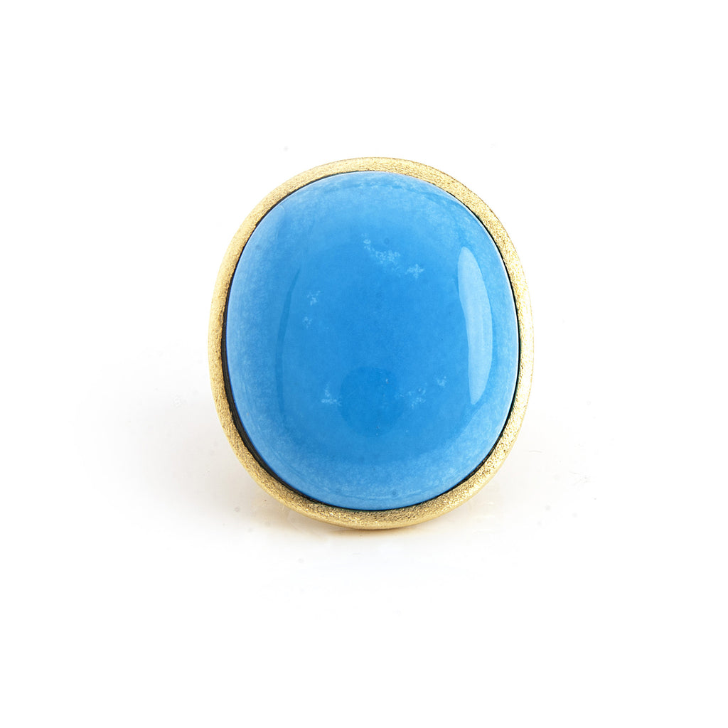 Magnesite Oval Ring