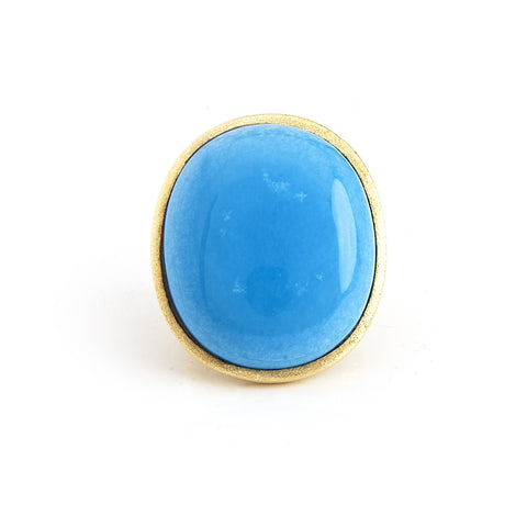 Magnesite Oval Ring - Closeout