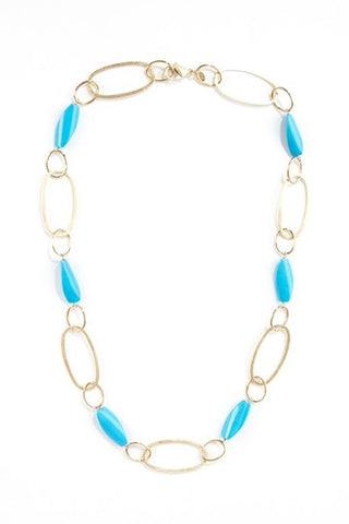 Magnestite Station Link Necklace - Closeout