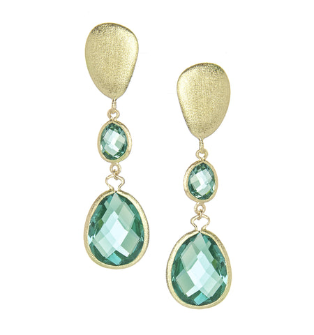 Capri Double Drop Earrings