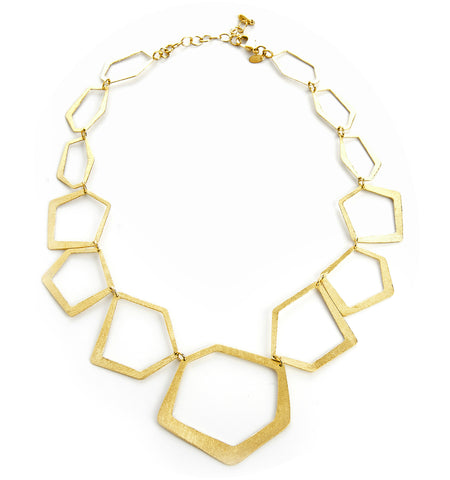 Deco Shaped Necklace