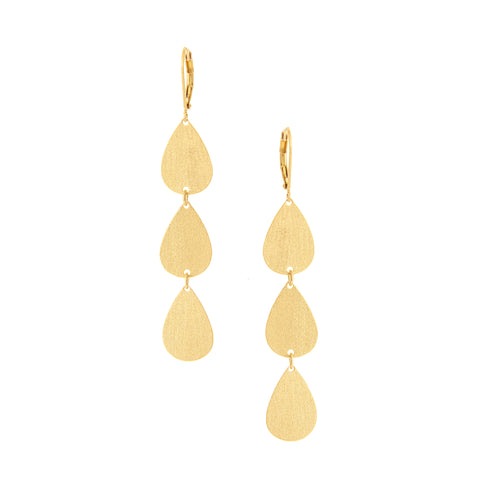 Triple Teardrop Dangles