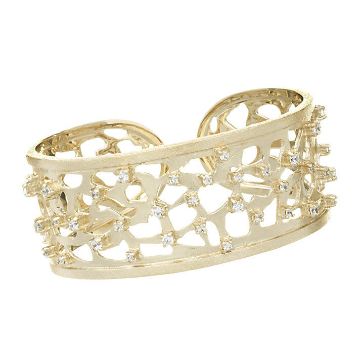 Scattered Simulated Diamond Cuff