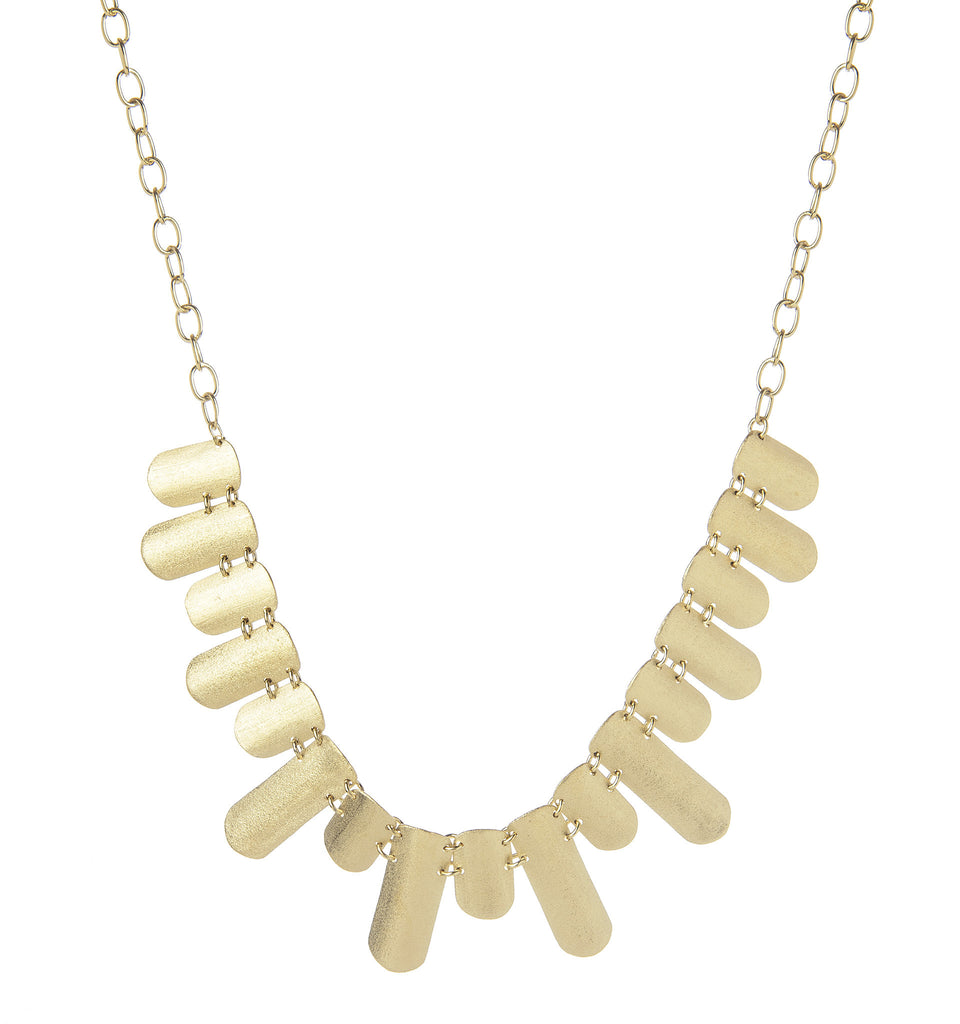 Satin Statement Necklace - Closeout