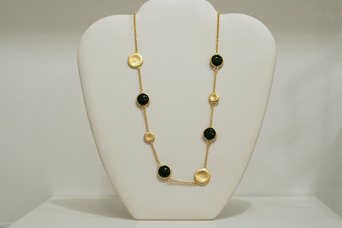 Onyx Pebble Necklace - Closeout