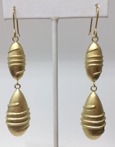 Satin Drop Earrings - CLOSEOUT