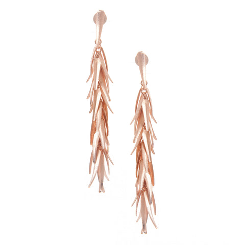Rose Gold Signature Chili Earrings