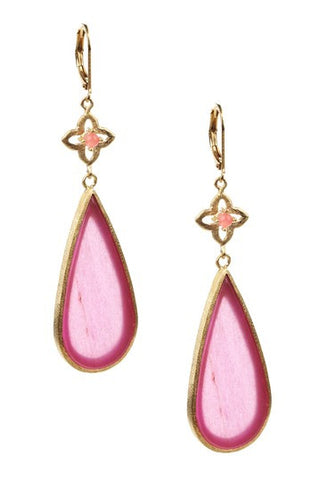 Quartzite Teardrop Earrings