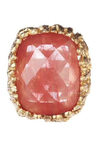 Guava Cocktail Ring - Closeout