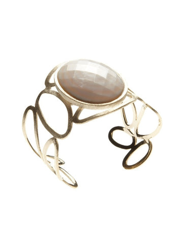 Mother of Pearl Satin Cuff - Closeout