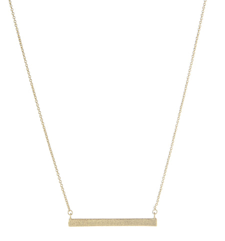 Satin Bar Necklace