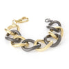 Two Tone Link Bracelet - Closeout