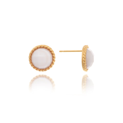 Mother of Pearl Cable Stud