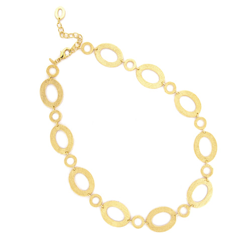 Satin Multi Link Necklace
