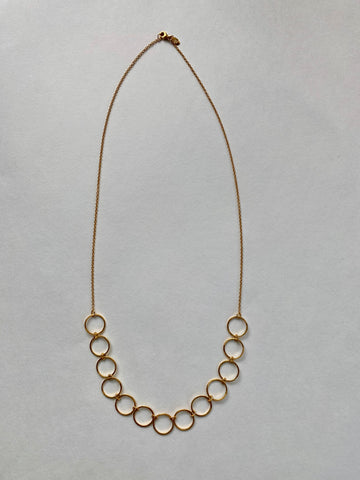 Felix + Lola Interlocking Circle Necklace - Closeout