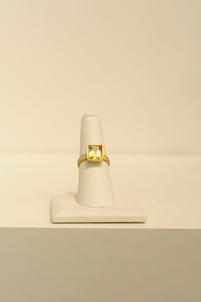 Felix + Lola Citrine Stackable Ring - Closeout