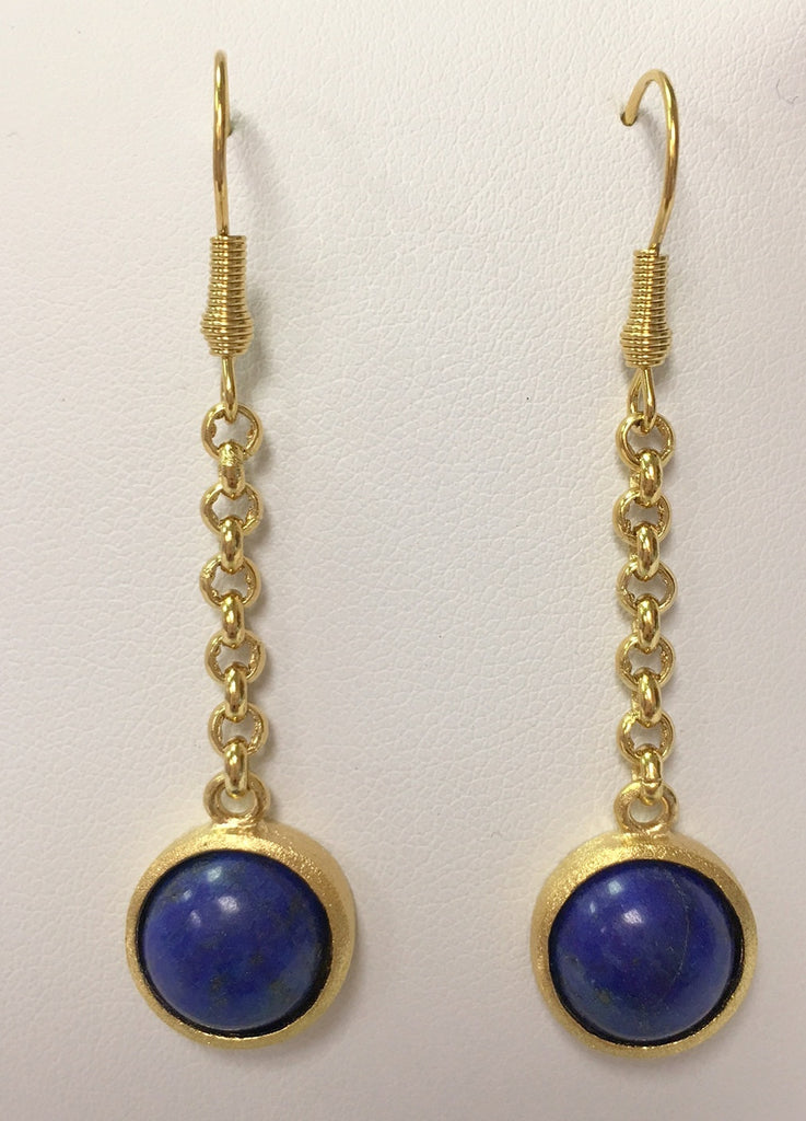 Lapis Drop Earrings - Closeout