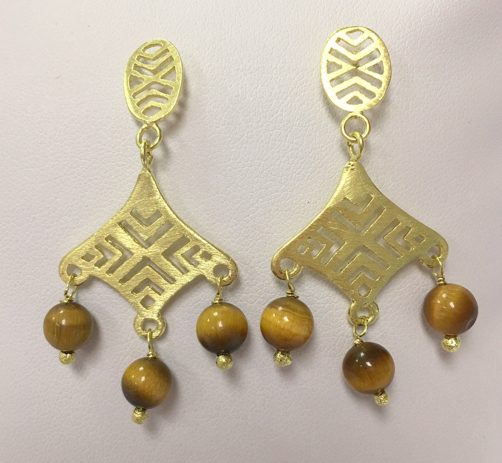 Tigereye Earrings - Closeout