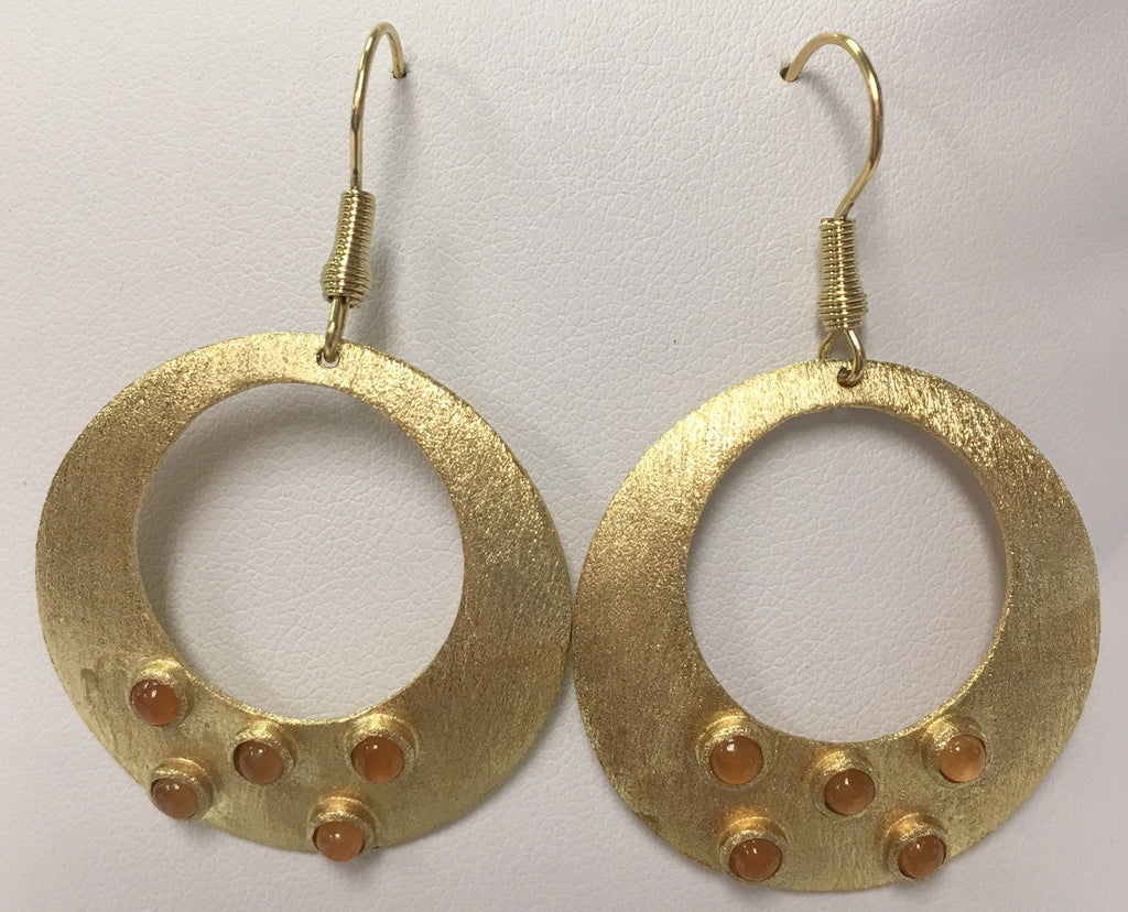 Quartzite Satin Earrings - Closeout