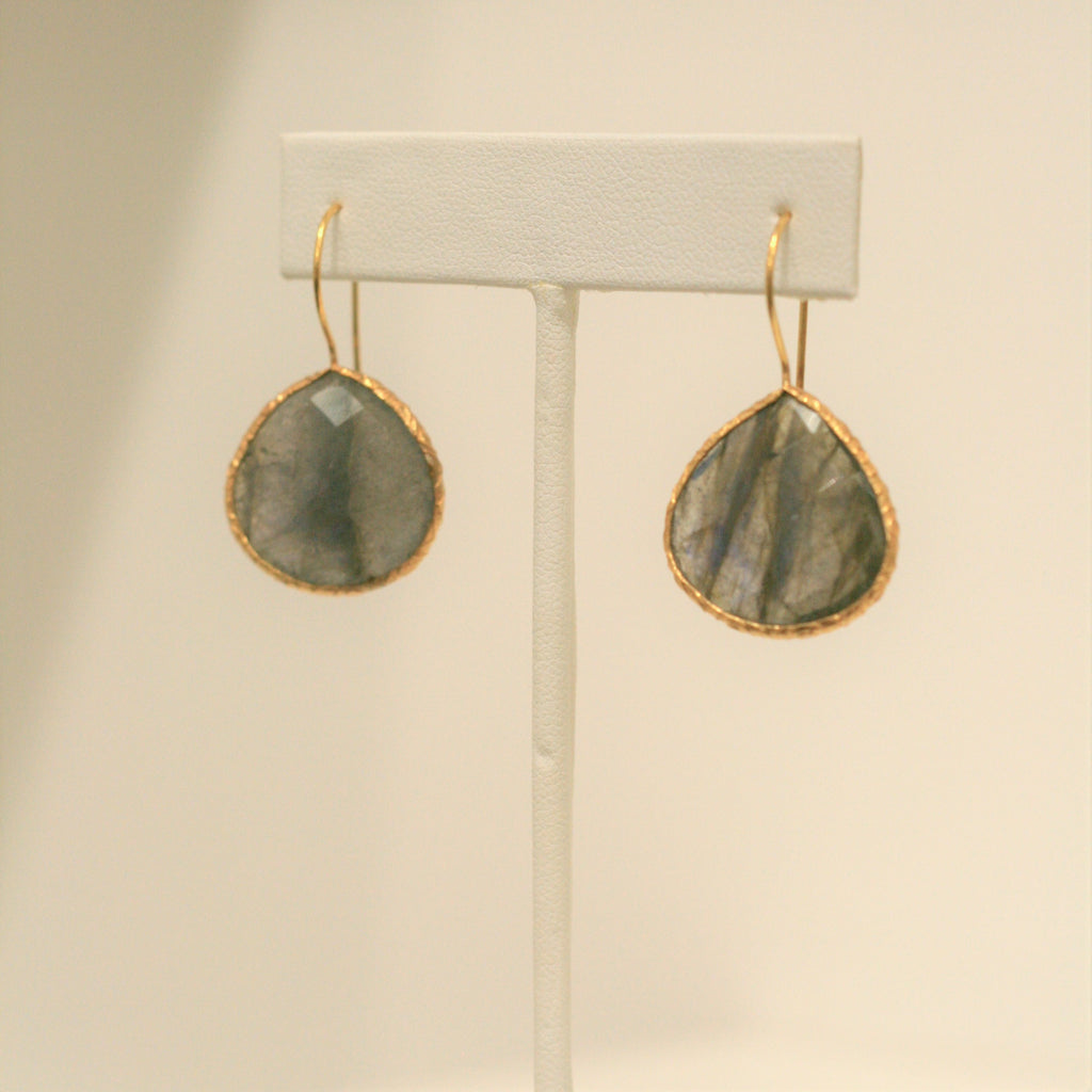 Felix + Lola Labradorite Drop Earrings - Closeout