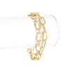 Multi Chain Oval Link Bracelet