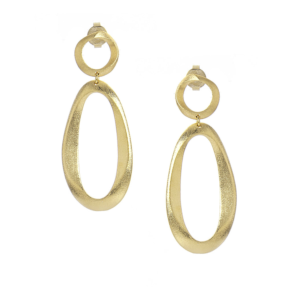 Satin Drop Earrings