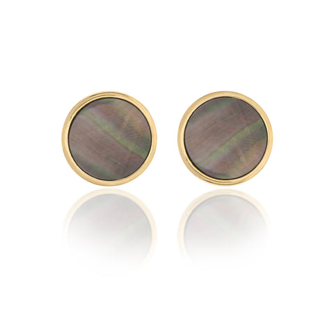 Black Mother of Pearl Studs