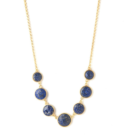Lapis Statement Necklace