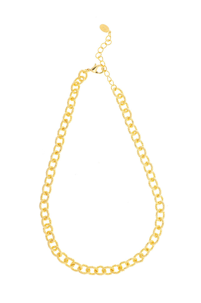 Chain Link Necklace - 16""