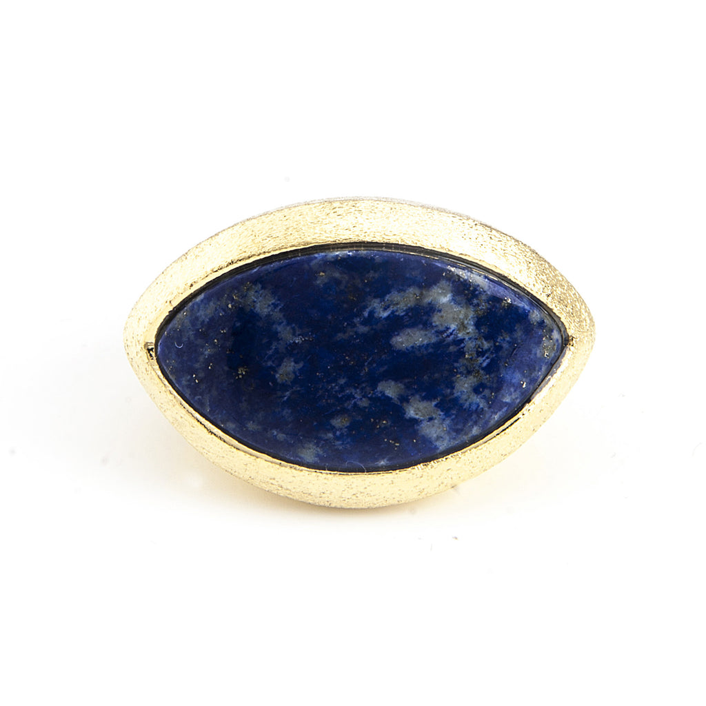 Lapis Cocktail Ring