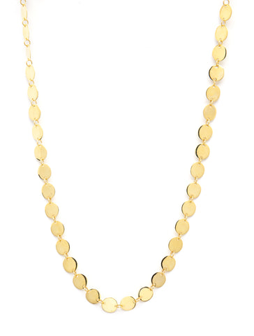 Felix + Lola Polished Disc Necklace - Closeout