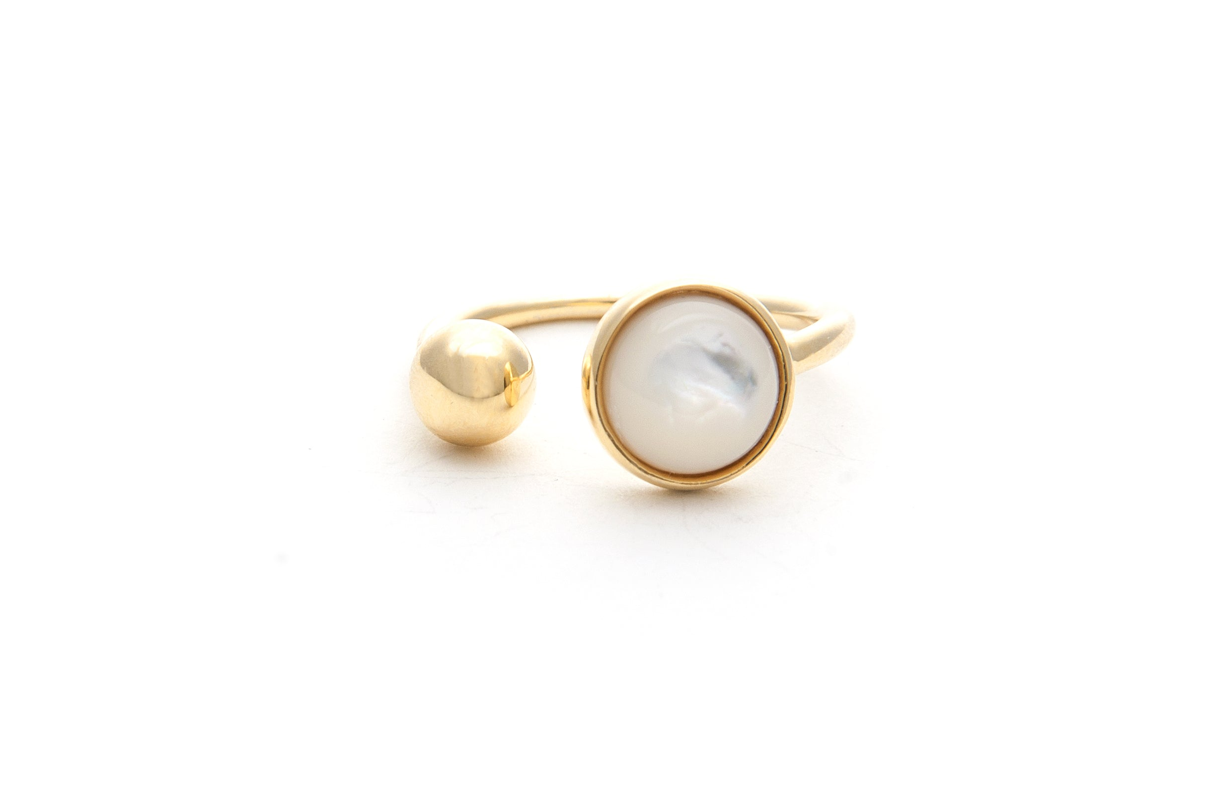 Felix + Lola Mother of Pearl Ring