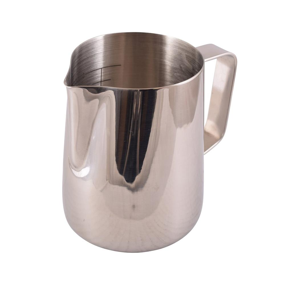 Foaming Jug With Etched Volume Measures (600ml)