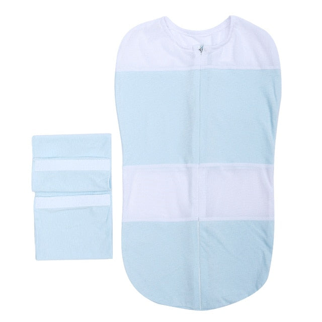 Baby Sleeping Bag and Cocoon Swaddle Wrap
