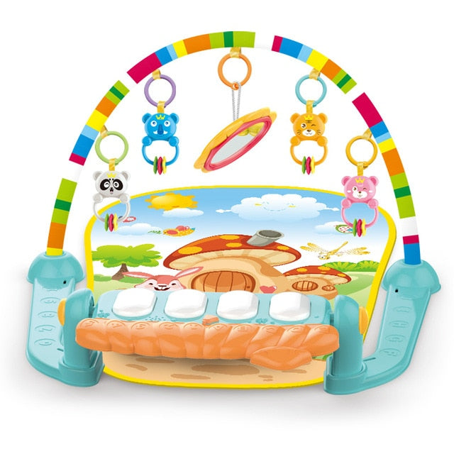 Baby Play Gym With Music and Puzzles