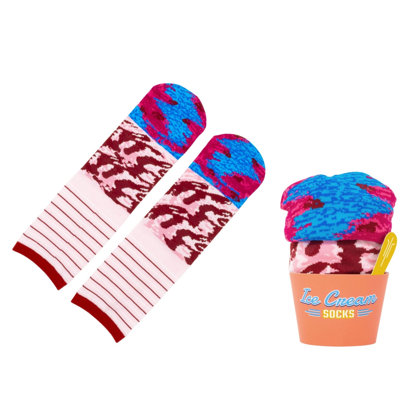 Black Cherry Ice Cream Socks