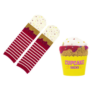 Red Velvet Cupcake Socks