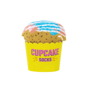 Cotton Candy Cupcake Socks
