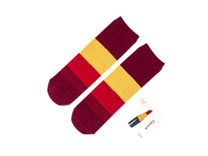 Lipstick Cosmetic Socks