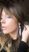 Load and play video in Gallery viewer, Disco Lightning Earrings