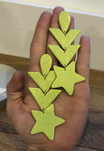 Load image into Gallery viewer, Neon Dream Star Earrings