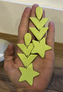 Neon Dream Star Earrings