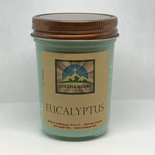 Load image into Gallery viewer, Eucalyptus Soy-Lotion Candle