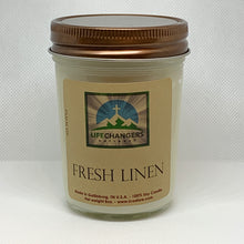 Load image into Gallery viewer, Fresh Linen Soy-Lotion Candle